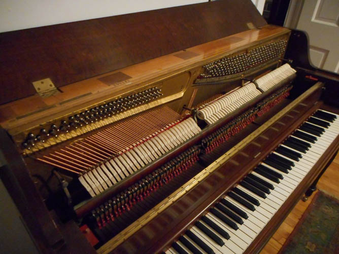 1939 Steinway Console The Victorian Piano